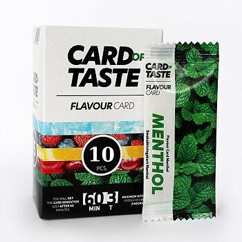 10 Stycken Smakkort