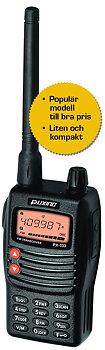 Puxing UHF radio med tbh