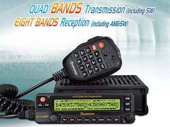 Wouxun mobilradio Quad Band