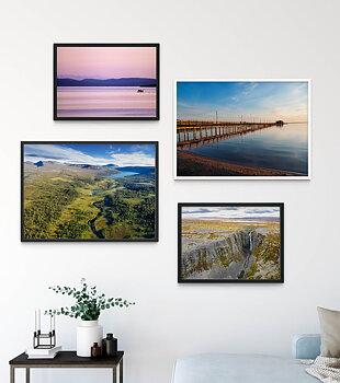 Canvas print - Lake Grövelsjön