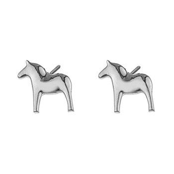 Stiftörhängen - Dalahästar i silver från Anna Viktoria (Fri frakt)