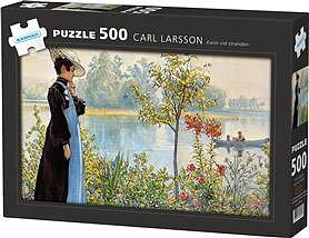 "Pussel 500 bitar - Carl Larsson ""Karin vid stranden"""