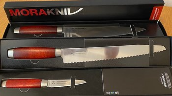 Knife set Classic chef / bread / paring knife