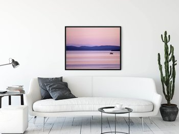 Canvas print - Lake Siljan with the steamer Gustaf Wasa