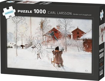Pussel 1000 bitar - Brygghuset vid Carl Larsson gården