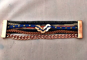 Armband nr 6 med magnetlås