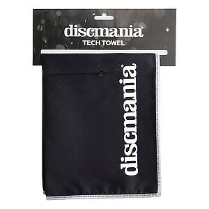 Discmania Tech Towel Svart