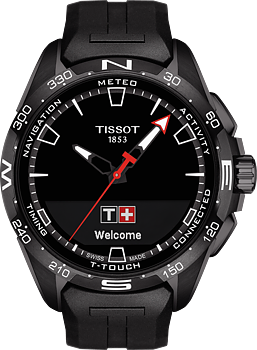 Tissot T-Touch Connect Solar Svart Pvd