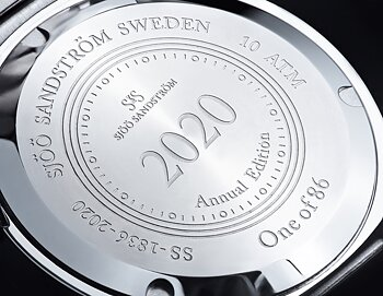 Sjöö Sandström Royal Steel Classic 36 mm Annual Edition 2020