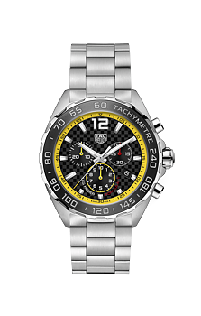 TAG Heuer Formula 1 Quartz Chronograph 43 mm Carbon/Gul