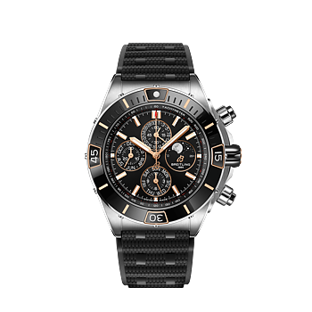 Breitling Super Chronomat 44 Four-Year Calender Svart
