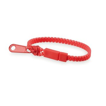Unisexarmband 144336 (0,8 x Ø 6 cm), Färg: Röd