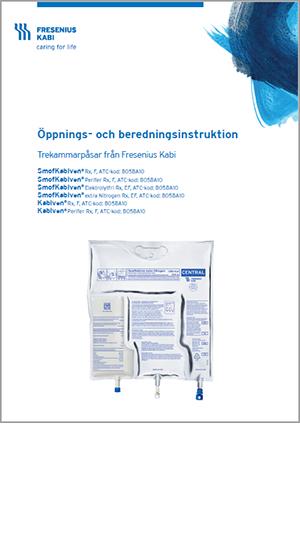 Öppnings- och beredningsinstruktion
