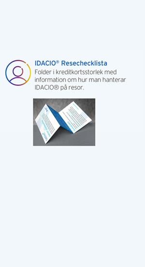 IDACIO® Resechecklista