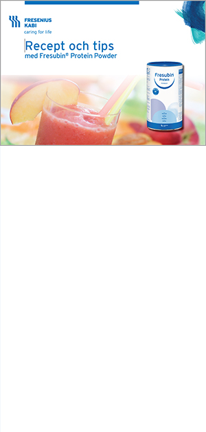 Recept med Fresubin Protein Powder