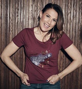 T-shirt  Nashville Stories Burgundy