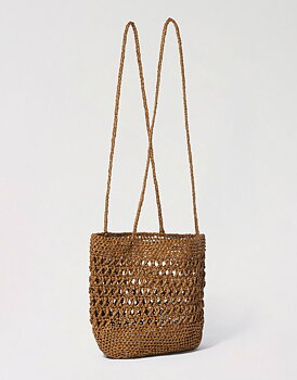 VIRKMÖNSTER MILLION REASONS BAG- RA-RA RAFFIA