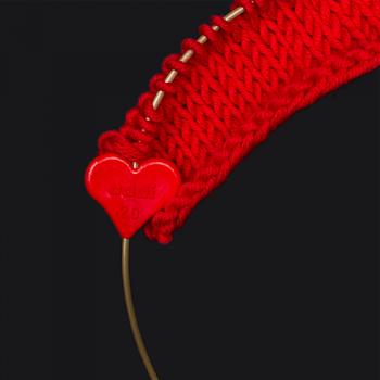 Stickhållare hjärta 1,5- 2- 3mm- ADDI