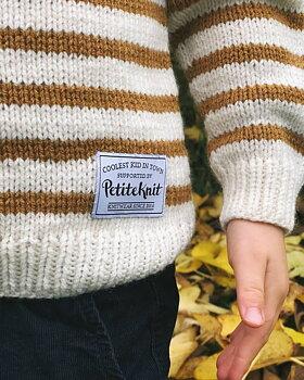 Petitknit- Tygmärke - Coolest kid in town