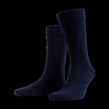 Bamboo Crew sock 4-pack,  fr A.Christensen, mörkblå