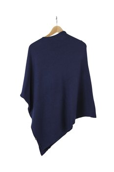 Ania Poncho från KN Collection,  navy