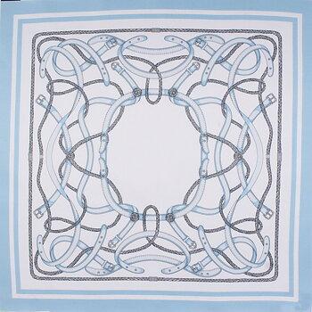 Klassisk sidenscarf skyblue från Amanda Christensen