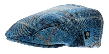 Edward HarrisTweed, Plaid blue  från CTH Ericson, 59 cm