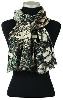 Kaylee, vacker ullsjal med diskreta färger från LindaLykke