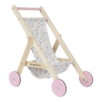 Doll carriage with name, DOLLY