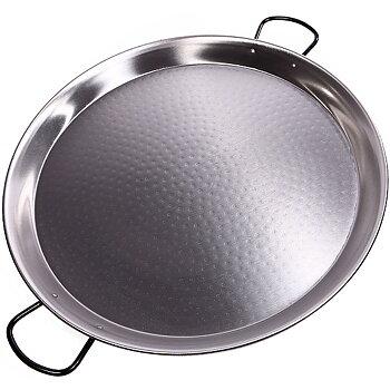 Paellapanna i polerat stål, 70 cm / 30 portioner