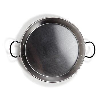 Paellapanna induktion i polerat stål. 30 cm / 4 portioner
