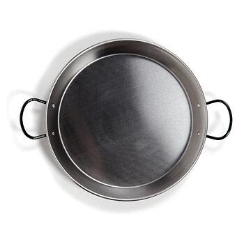 Paellapanna induktion i polerat stål. 34 cm / 6 portioner
