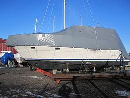 Formsydda båttäckningar