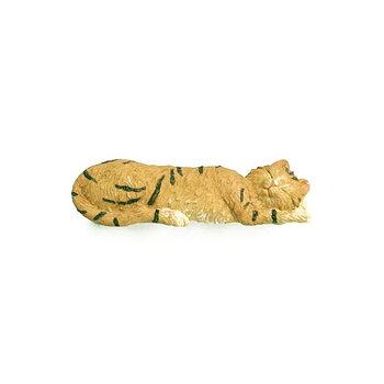 Handtag sovande katt (hård plast)