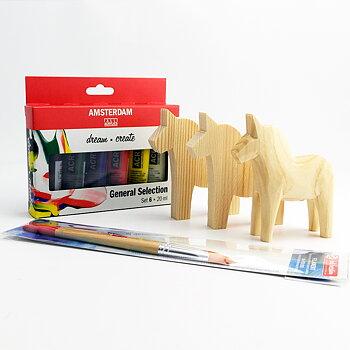 Måla dalahäst - DIY