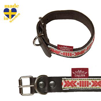 OUTLET Halsband mini rött