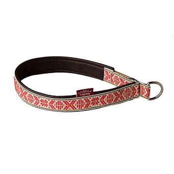 OUTLET Halsband rött
