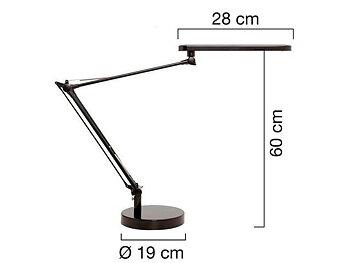 Lampa UNILUX Mambo LED grå