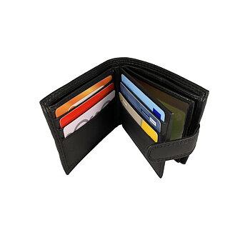 Dollarplånbok med knäppe