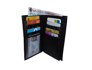 3-delad plånbok (stor)