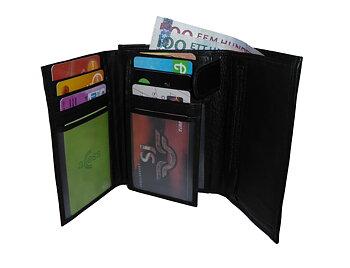 Plånbok med knäppning (stor)