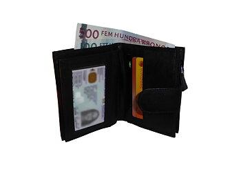 Plånbok med myntbörs