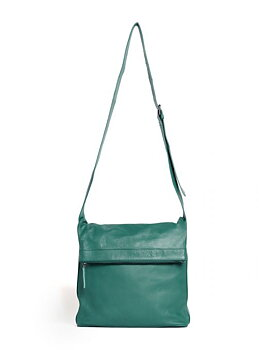 Sticks and Stones väska  Flap Bag, Green Spruce