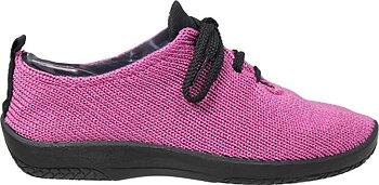 Arcopedico stickade sneakers,  cerise
