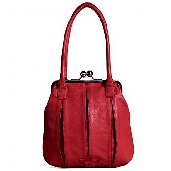 Sticks and Stones väska  modell Annecy, röd