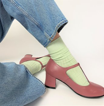 Nordic ShoePeople modell Frida, gammelrosa