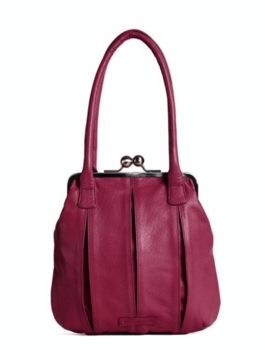 Sticks and Stones väska  modell Annacy, Mulberry Red