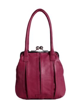 Sticks and Stones väska  modell Annacy, Mulberry Red