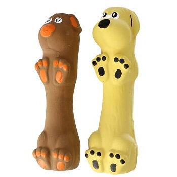 Dogman Latexhund Med Pipljud 13cm