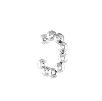 Bubble Ear Cuff Silver - small